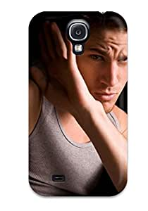 AnnaSanders Premium Protective Hard Case For Galaxy S4- Nice Design - Channing Tatum