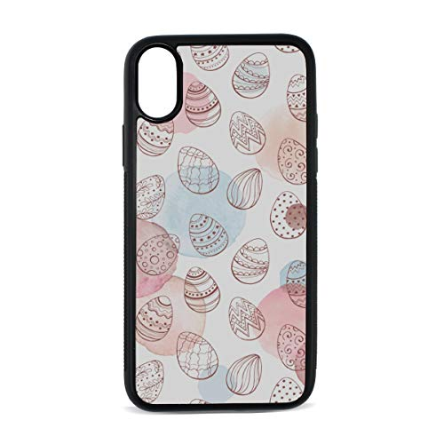 - Case for Iphonex/xs Egg Food Nutrition Art Design Creative Color Background Digital Print TPU Pc Pearl Plate Cover Phone Hard Case Cell Phone Accessories Compatible with Protective Apple Case 5.8Inch