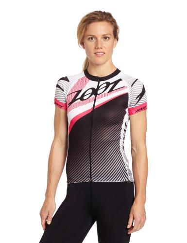 Zoot Sports Women's Ultra Cycle Team Jersey, Pink Glow, X-Small ()
