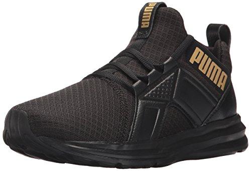 PUMA Women Enzo Premium Mesh Wn Sneaker Puma Black-puma Team Gold