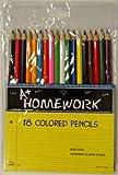 Colored Pencils - assorted colors - 18 pack 48 pcs sku# 1192807MA
