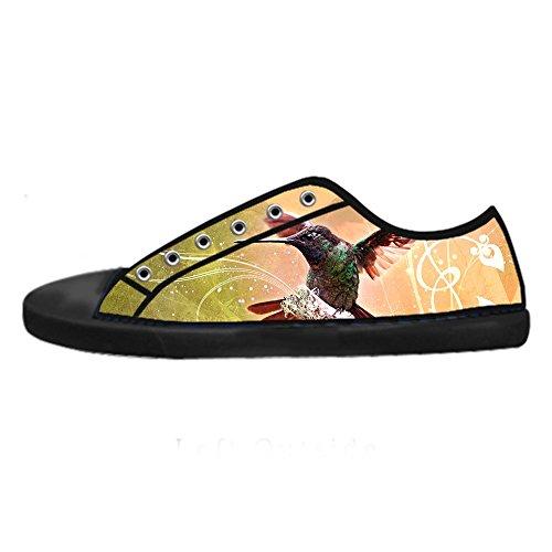 Chaussures Custom Hummingbird Womens Canvas Les Chaussures De Lacets Chaussures Baskets Montantes