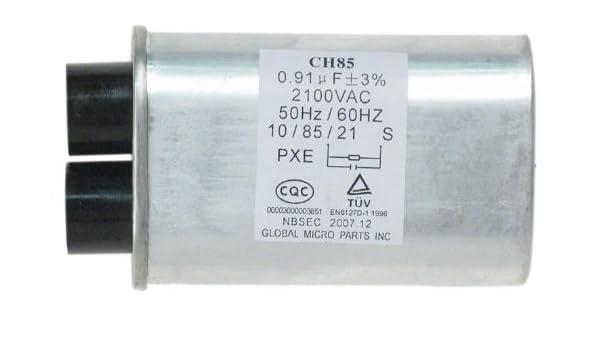 GE WB27 X 10011 condensador para microondas: Amazon.es: Bricolaje ...