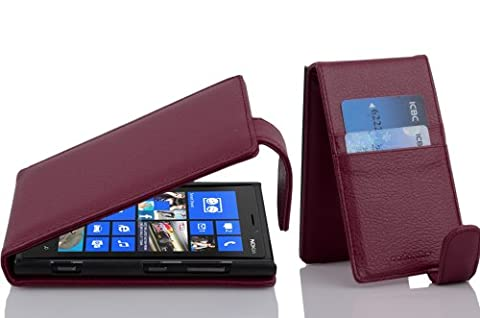 Cadorabo – Flip Style Case for Nokia Lumia 920 – Shell Etui Cover Protection Skin in (Cover Case Nokia Lumia 920)