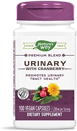 Nature s Way Urinary with Cranberry, 1,260 mg per serving, 100 Capsules