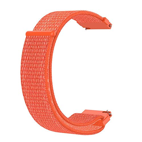 DLMZY Nylon Loopback Straps Fashion Wristbands for Amazfit Bip Replacement Straps Sports Youth Replacement Strap Fashion Wristband for Amazfit Bip