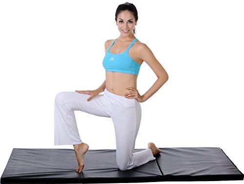 Sunny Health Amp Fitness Tri Fold Exercise Mat Sunny Health
