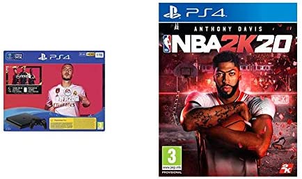 PlayStation 4 (PS4) Consola de 1TB + FIFA 20 + NBA 2k20: Amazon.es: Videojuegos