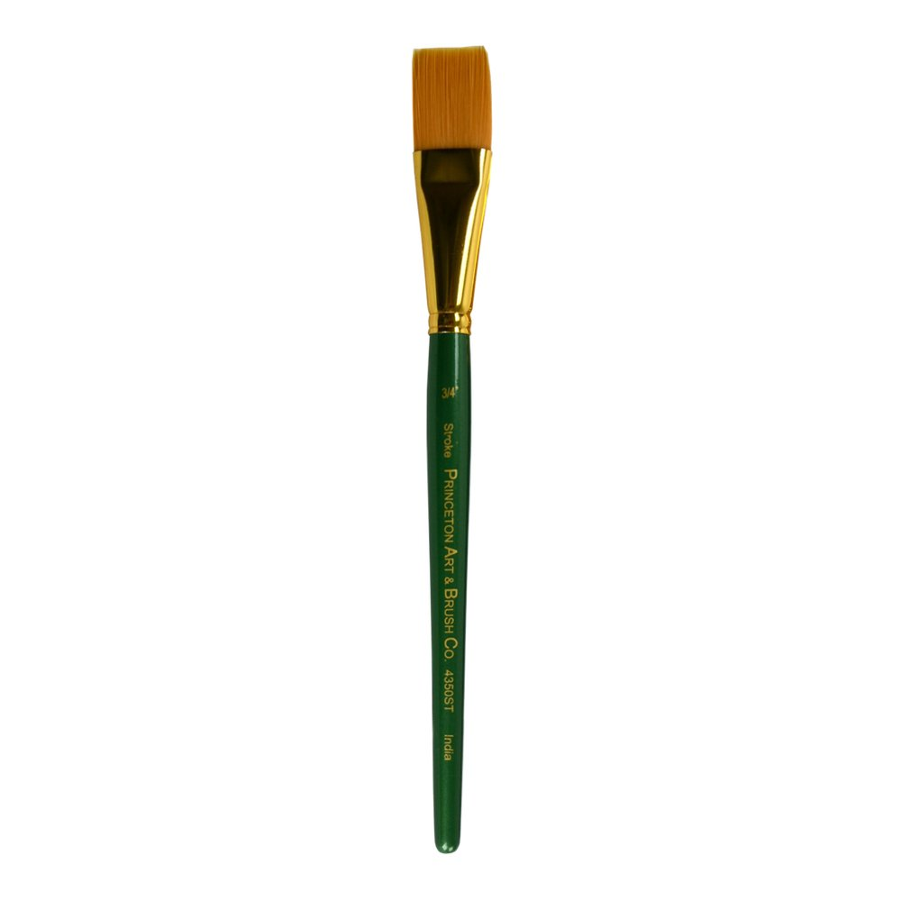 B000HF0NRI Princeton Artist Brush Lauren, Brushes for Acrylic and Watercolor Series 4350, Stroke Golden Synthetic, Size 075 41L8quE7SjL