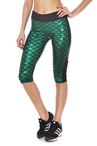 Fvous Womens Mermaid Leggings Running product image