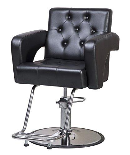 ShengYu Black Hydraulic Barber Cape Chair Styling Salon Work Station Chair … by Shengyu