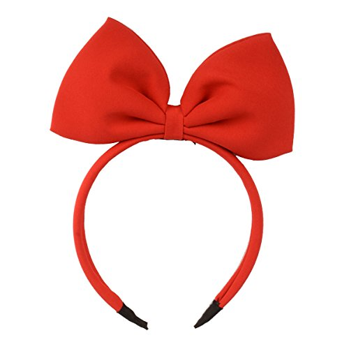 (HoveBeaty Hair Band Bow Headbands Headdress for Women and Girls, Perfect Hair Accessories for Party and Cosplay)