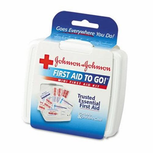Mini First Aid To Go Kit,  Plastic Case, 1 Each