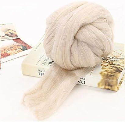 Refinados Suave Hilado Peinado de algodón Natural de la Leche, la ...