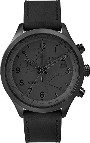 (Timex Men's TW2P79000DH Intelligent Quartz Collection Stainless Steel Watch with Black Band)