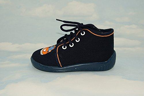 Zapatillas, Niños, Boys, Velcro, Snap, cordones zapatos, multicolor, Lovely colores, countured, suela con reforzada, materiales naturales, lienzo, antideslizante, talla 2UK–