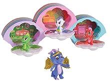 Simba 105951022 Safiras Rainbow - Figuras de dragón (3 Unidades, 1 Personaje Especial, a Partir de 3 años)