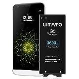 Wavypo CompatiblewithG5Battery, 3600mAh