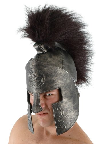 Roman Spartan Costume Helmet for Adults and Kids by elope -