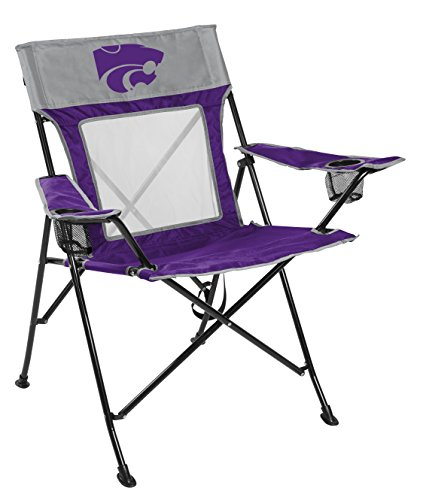 Rawlings NCAA Kansas State Wildcats Unisex 00643033111NCAA Game Changer Chair (All Team Options), Blue, Adult