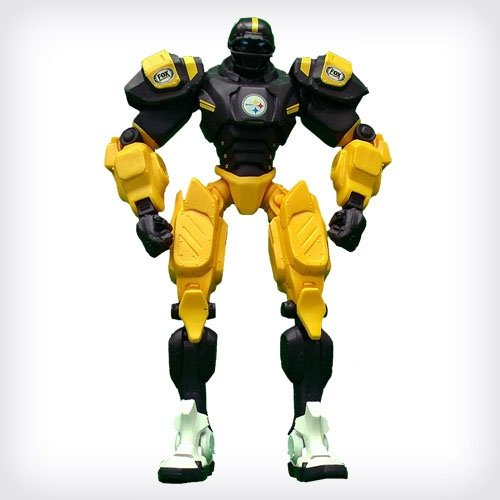 "NFL Pittsburgh Steelers 10"" Team Cleatus FOX Robot Action Figure Version 2.0"