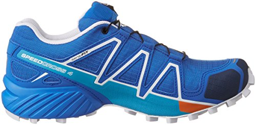 Salomon L39072200, Zapatillas de Trail Running para Hombre Azul (Bright Blue /      Union Blue /      White)