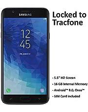$29 » TracFone Carrier-Locked Samsung Galaxy J7 Crown 4G LTE Prepaid Smartphone - Black - 16GB - Sim Card Included - CDMA