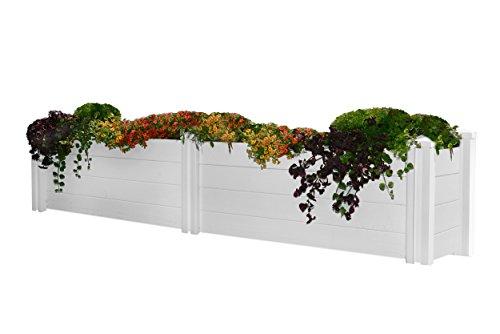 New England Arbors Pergola Garden Bed, 12-Feet