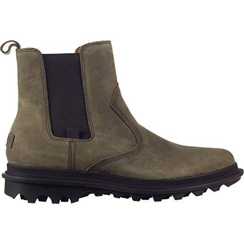 SOREL Mens Ace Chelsea Waterproof Boot, Quarry/Black, Size 14