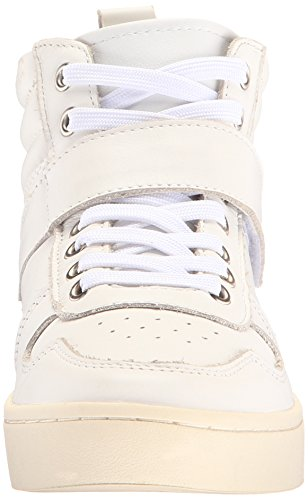 Fly London Dame Mida834fly Mote Sneaker Hvitt Skinn