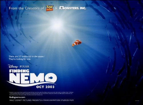 Finding nemo movie poster amazon kitchen home altavistaventures Gallery