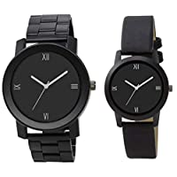 LegendDeal Stylish Analogue Black Dial with Quality Black...