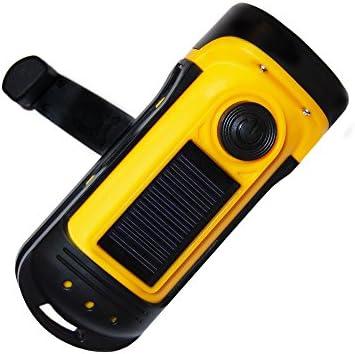 Prettyia Emergency Hand Crank Dynamo Self Powered Flashlight Camping Torch