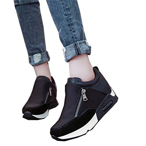 haoricu Sports Shoes Women, Women Wedges Boots...