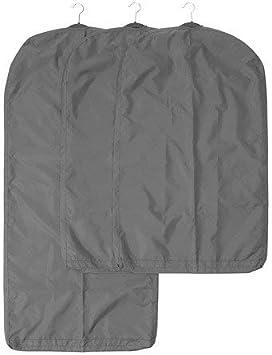 IKEA SKUBB gris oscuro resistente paquete de 3 fundas para la ropa ...