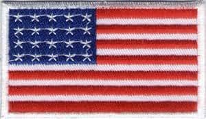 Parche para coser (diseño con la bandera de EE.UU.)