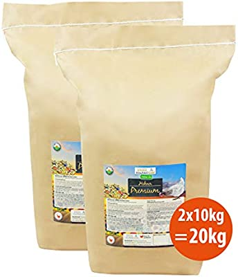 WachtelGold® Comida Premium de Pollo ♥ │ 20kg │ ✓ sin OGM ...