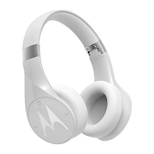 Motorola Pulse Escape + Wireless Over-Ear Headphones - White