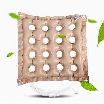 Amazon.com: hgcy aire asiento cojín hinchable anti decúbito ...