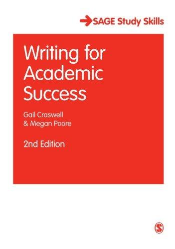 Writing for Academic Success (SAGE Study Skills Series)
