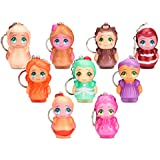 MALLMALL6 9Pcs Easter Egg Filled Little Doll Slow Rising Squishy Easter Mini Soft Jumbo Kawaii Squishy Cream Scented Toys for Keychain, Decoration, Easter Party, Kids Favor Easter Basket Fillers