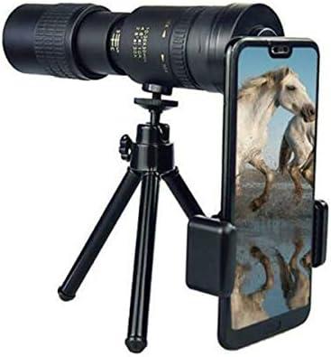 Monocular Telescope,New HD 4K 10-30X25mm Super Telephoto Zoom Monocular Telescope for Beach Hiking Camping Sightseeing