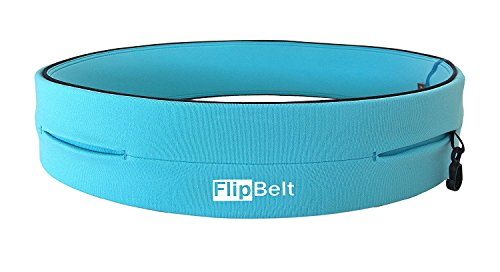 Level Terrain FlipBelt Classic Edition Waist Pack, Aqua, XX Large