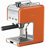 DeLonghi Kmix 15 Bars Pump Espresso Maker, Orange