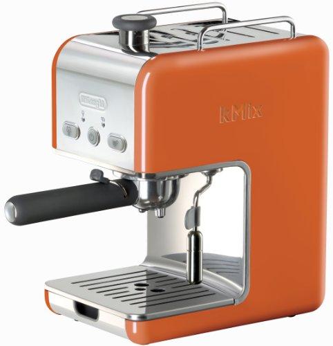 DeLonghi Kmix 15 Bars Pump Espresso Maker, Orange by DeLonghi (Image #1)