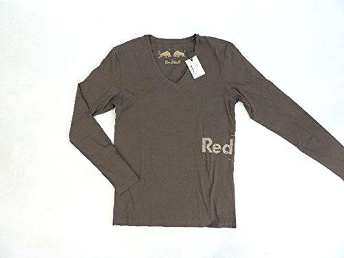 レッドブル 公式 RED 公式 COLLECTION B06XYB3739 Vネック ロングスリーブ 長袖 レッドブル Vネック シャツ ブラウン(茶系) メンズ M new 新品 B06XYB3739, ユガワムラ:74e40eed --- kapapa.site