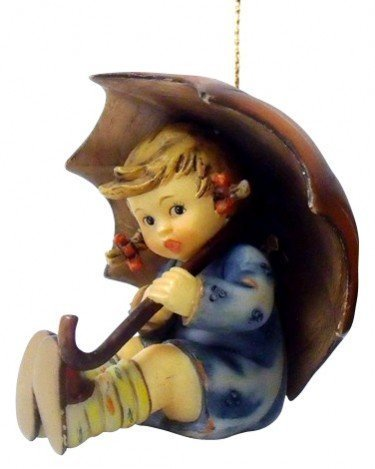 M.I. Hummel Christmas Ornament - Umbrella Girl by M I Hummel (Umbrella Girl Hummel)