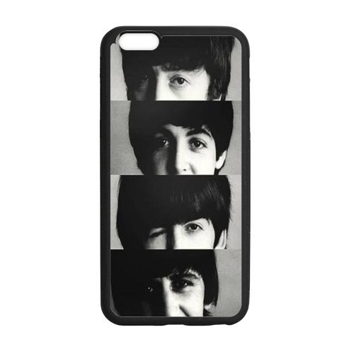 DIY Famous Band The Beatles Custom Case Shell Cover for iPhone 6/6S Plus TPU (Laser Technology)