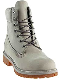 Premium Boot Men's Boot 7 D(M) US Light Grey
