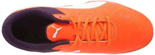 Multisport puma Puma Tenaz 03 Chaussures White shadow Orange Shocking Adulte Indoor Purple Orange Mixte wAgEx1qA